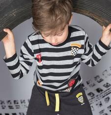Endo - Spodnie dresowe dla chłopca 3-8 lat C72K002_1