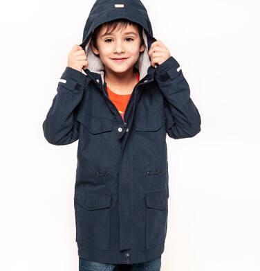 Endo - Przejściowa kurtka parka dla chłopca 3-8 lat, granatowa C91A001_1