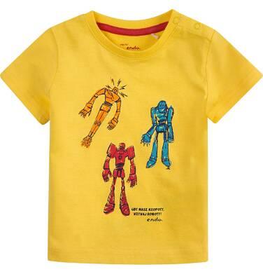 Endo - Bluzka z krótkim rękawem  dla dziecka 0-3 lat N71G100_1