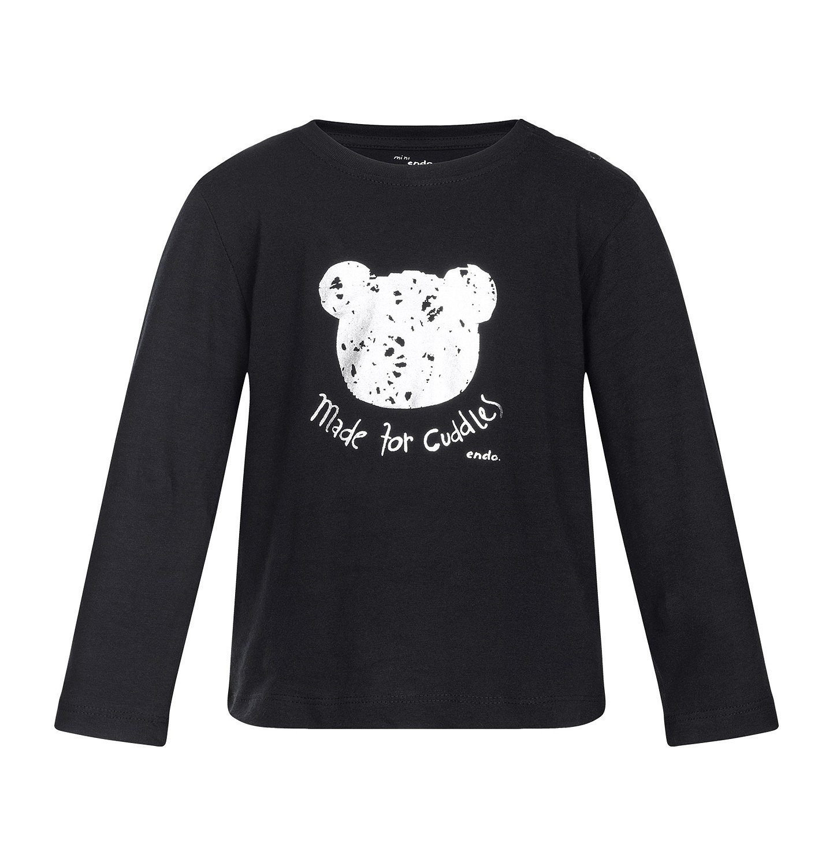 Endo - T-shirt z długim rękawem dla dziecka 0-3 lata N82G056_1