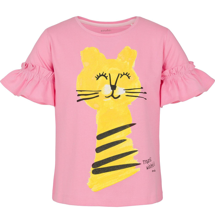 Endo - T-shirt z krótkim rękawem dla dziewczynki 9-13 lat D91G598_1