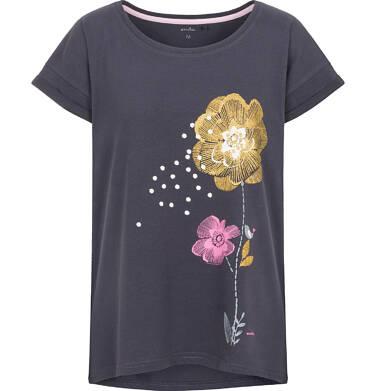 T-shirt damski z krótkim rękawem Y92G015_1