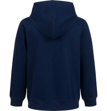 Endo - Rozpinana bluza z kapturem dla chłopca, z tygrysem, granatowa, 9-13 lat C05C005_1 2