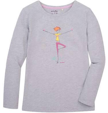 Endo - Bluzka z długim rękawem  dla dziewczynki 3-8 lat D72G090_2