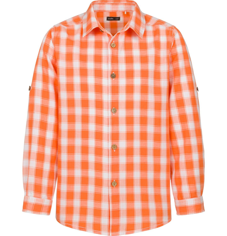 Endo - Koszula dla chłopca, w kratę, 2-8 lat C03F015_1