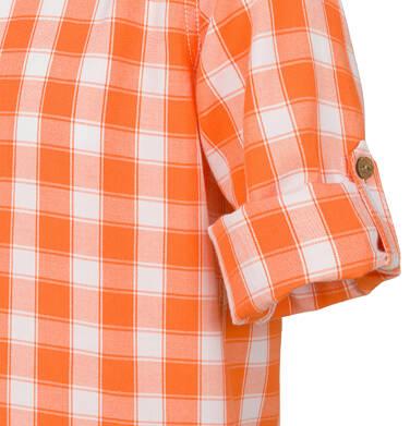 Endo - Koszula dla chłopca, w kratę, 2-8 lat C03F015_1,2