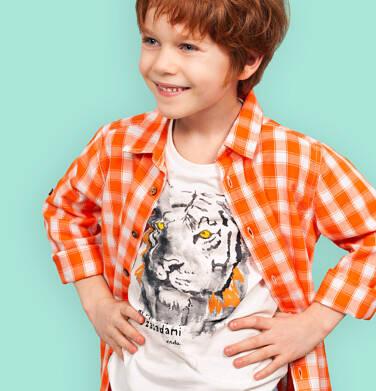 Endo - Koszula dla chłopca, w kratę, 2-8 lat C03F015_1 8