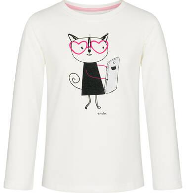 Endo - T-shirt z długim rękawem dla dziewczynki 9-13 lat D92G565_2 93