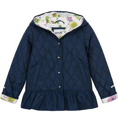 Pikowana kurtka przejściowa dla dziewczynki 9-13 lat D91A504_2