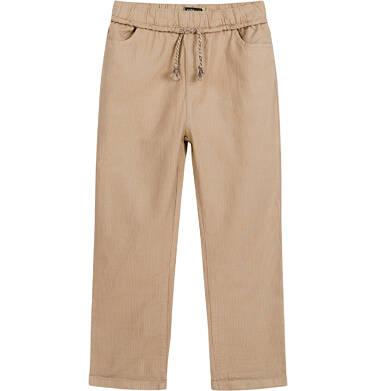 Endo - Spodnie dla chłopca, beżowe, 2-8 lat C03K056_3,3