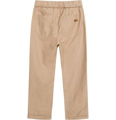 Endo - Spodnie dla chłopca, beżowe, 2-8 lat C03K056_3,4