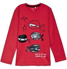 T-shirt z długim rękawem dla chłopca 9-12 lat C62G537_2