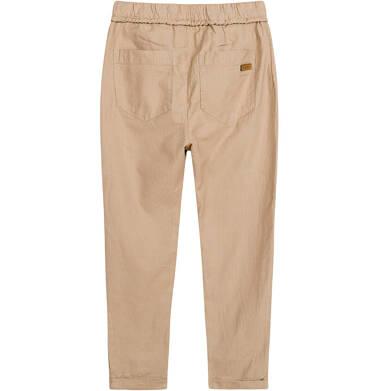 Endo - Spodnie dla chłopca, beżowe, 9-13 lat C03K556_3 13