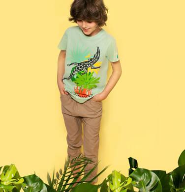 Endo - Spodnie dla chłopca, beżowe, 9-13 lat C03K556_3 17