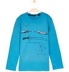 T-shirt z długim rękawem dla chłopca 3-8 lat C62G038_2