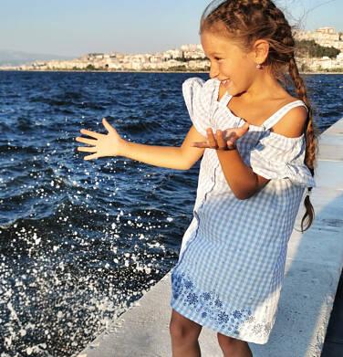 Endo - Sukienka na ramiączkach, w kratę, 2-8 lat D03H032_1 30