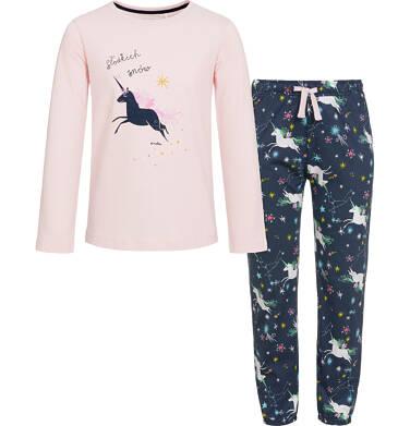 Endo - Piżama z długim rękawem dla dziewczynki 3-8 lat D92V008_1