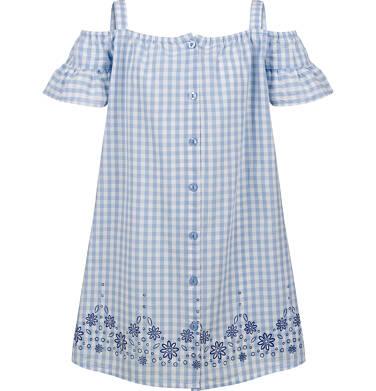 Endo - Sukienka na ramiączkach, w kratę, 9-13 lat D03H532_1,1
