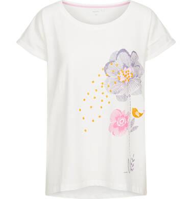 T-shirt damski z krótkim rękawem Y92G016_1