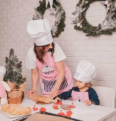 Endo - Fartuch kuchenny, różowy SX04U002_1 3