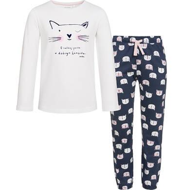 Endo - Piżama z długim rękawem dla dziewczynki 3-8 lat D92V006_1