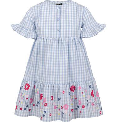 Endo - Sukienka w kratę, deseń w kwiaty, 9-13 lat D03H533_1 211