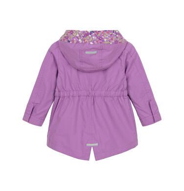 Endo - Przejściowa kurtka parka dla małego dziecka, Dziewczyny rządzą, fioletowa N91A014_1