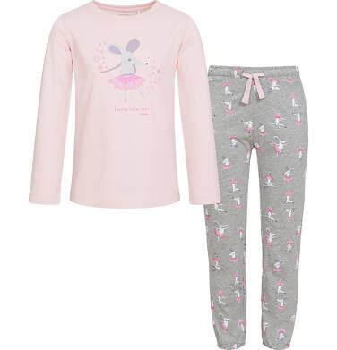 Endo - Piżama z długim rękawem dla dziewczynki 3-8 lat D92V005_1