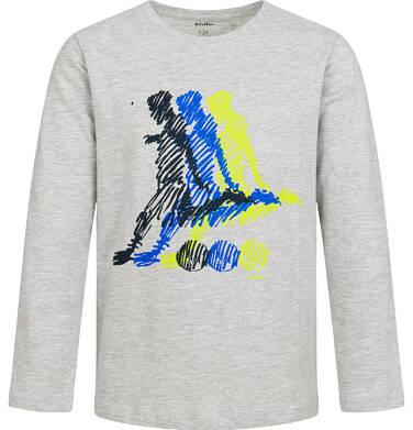Endo - T-shirt z długim rękawem dla chłopca, sportowy motyw, 9-13 lat C04G007_1 32