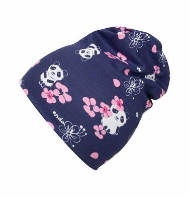 Endo - Czapka dla dziecka do 2 lat, deseń w pandy N03R008_1
