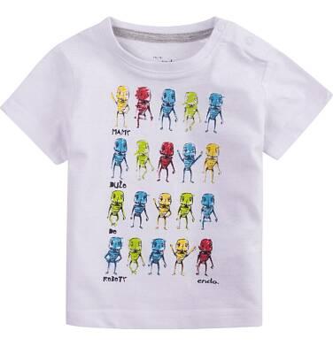 Endo - Bluzka z krótkim rękawem  dla dziecka 0-3 lat N71G101_1