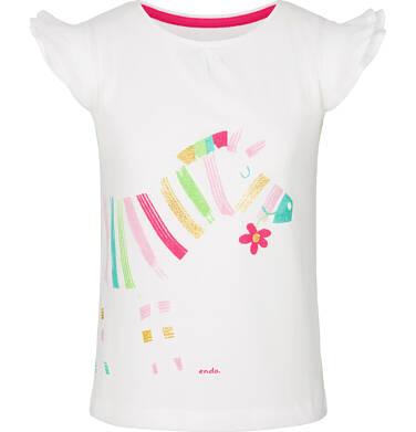 Endo - T-shirt z krótkim rękawem dla dziewczynki 9-13 lat D91G600_1