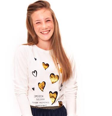 Endo - Bluzka z długim rękawem dla dziewczynki 9-13 lat D92G535_1