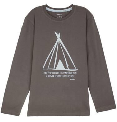 Endo - T-shirt z długim rękawem dla chłopca 3-8 lat C62G068_2