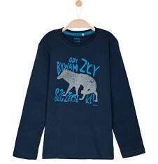T-shirt z długim rękawem dla chłopca 3-8 lat C62G099_2