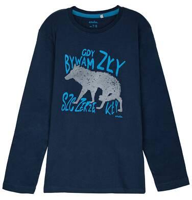 Endo - T-shirt z długim rękawem dla chłopca 9-12 lat C62G599_2