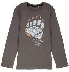 Endo - T-shirt z długim rękawem dla chłopca 3-8 lat C62G100_2