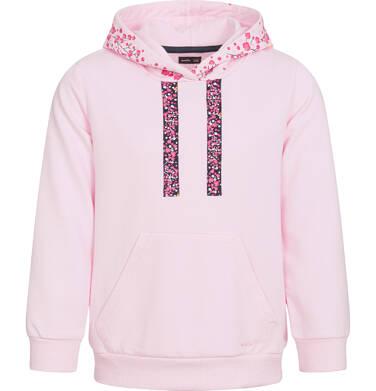Endo - Bluza z kapturem dla dziewczynki, różowa, 3-8 lat D92C026_1