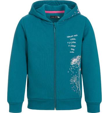 Endo - Bluza rozpinana z kapturem dla dziewczynki 3-8 lat D92C021_1