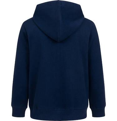 Endo - Rozpinana bluza z kapturem dla chłopca, z piłką nożną na piersi, granatowa, 2-8 lat C05C012_1 3