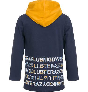 Endo - Koszulka z kapturem i długim rękawem dla chłopca 3-8 lat C92G081_1