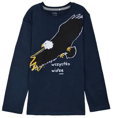 Endo - T-shirt z długim rękawem dla chłopca 3-8 lat C62G122_2