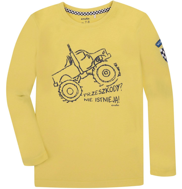 Endo - T-shirt z długim rękawem dla chłopca 9-13 lat C72G520_1