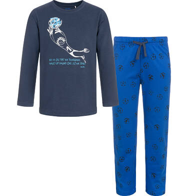 Endo - Piżama z długim rękawem dla chłopca 3-8 lat C92V005_1