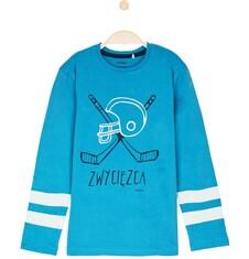Endo - T-shirt z długim rękawem dla chłopca 9-12 lat C62G625_2
