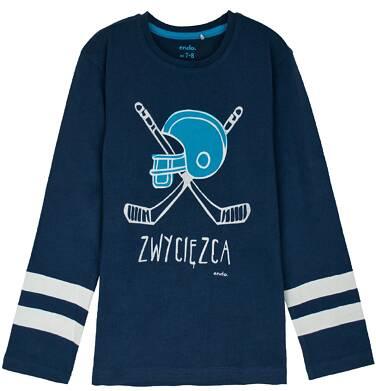 Endo - T-shirt z długim rękawem dla chłopca 3-8 lat C62G125_3