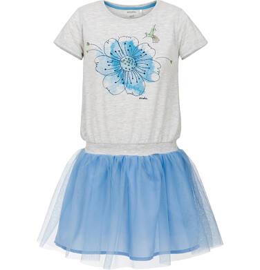 Sukienka z krótkim rękawem dla dziewczynki 3-8 lat D91H076_1