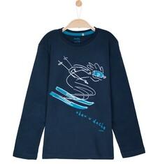 Endo - T-shirt z długim rękawem dla chłopca 9-12 lat C62G630_2