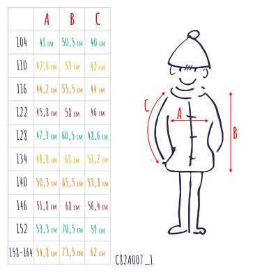 Endo - Kurtka zimowa dla chłopca 9-13 lat C82A507_1