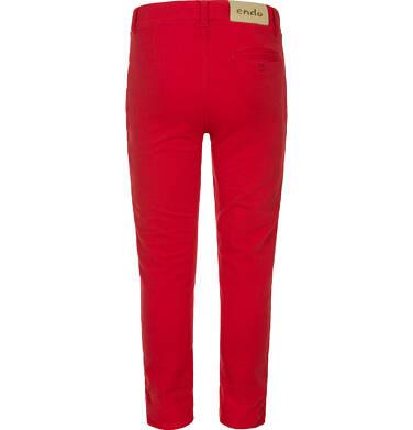 Endo - Spodnie długie typu chinos dla chłopca 3-8 lat C91K022_3
